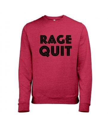 Rage Quit heather sweatshirt