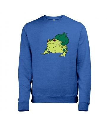 Real Life Bulbasaur heather sweatshirt