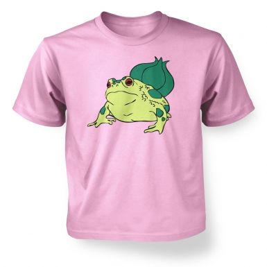 Real Life Bulbasaur kids t-shirt