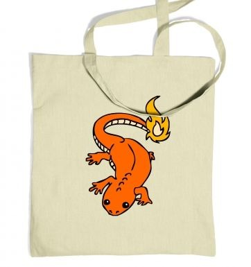 Real Life Charmander tote bag