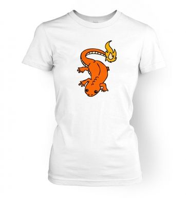 Real Life Charmander womens t-shirt