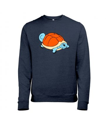 Real Life Squirtle Mens Heather Sweatshirt
