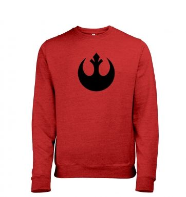 Rebel Alliance Logo heather sweatshirt