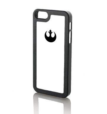 Rebel Alliance Logo WHITE - iPhone 5 & iPhone 5s case