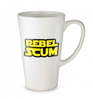 Rebel Scum tall latte mug