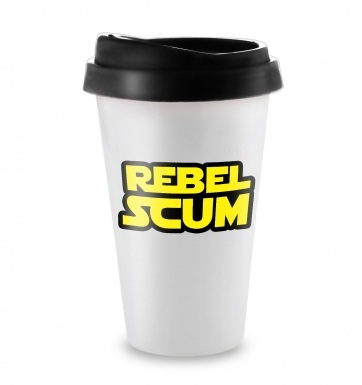 Rebel Scum travel latte mug