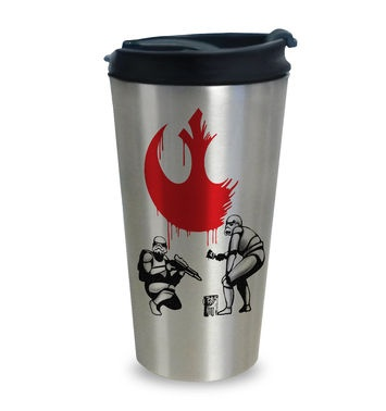 Rebel Stormtroopers travel latte mug