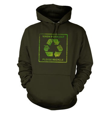 Please Recycle hoodie