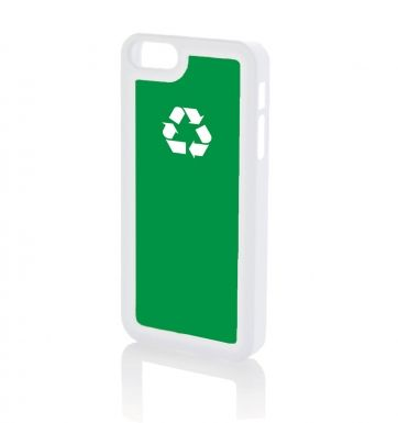 Recycling WHITE - Apple iPhone 5 & iPhone 5s case