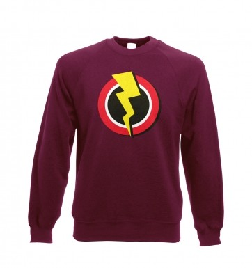 Red and Yellow Flash Symbol  sweatshirt