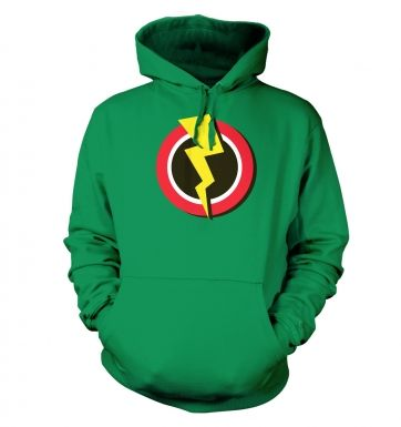 Red and Yellow Flash Symbol   hoodie