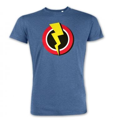 Red and Yellow Flash Symbol premium t-shirt