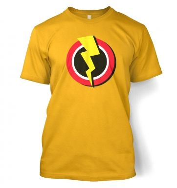 Red and Yellow Flash Symbol t-shirt
