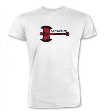 Red Barbarian Axe  premium t-shirt