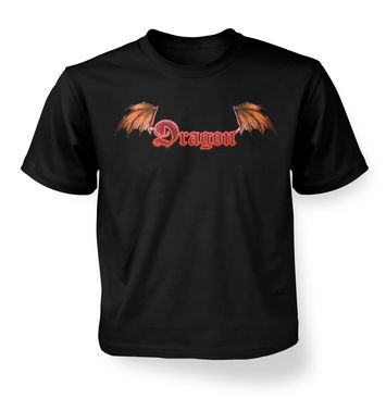 Red Dragon kids' t-shirt