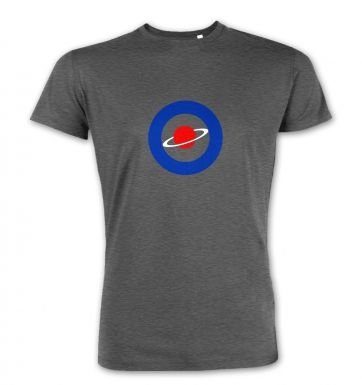 Red Saturn Blue Circle premium t-shirt