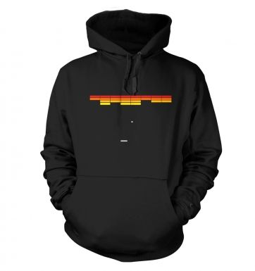 Retro Arcade Style (red/yellow) hoodie