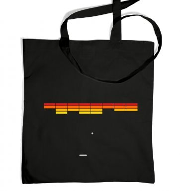 Retro Arcade Style (red/yellow) tote bag