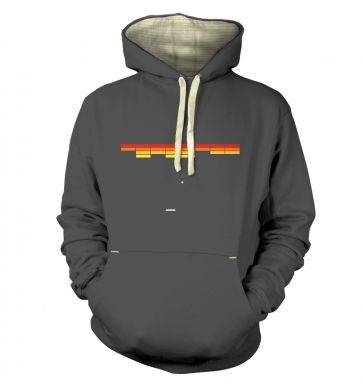 Retro Arcade Style (red/yellow)  hoodie (premium)