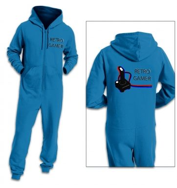 Retro Gamer adult onesie