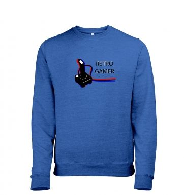 Retro Gamer heather sweatshirt