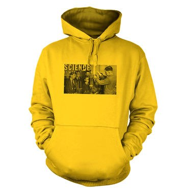 Retro Science Graphic hoodie