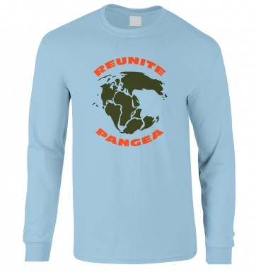 Reunite Pangea long-sleeved t-shirt