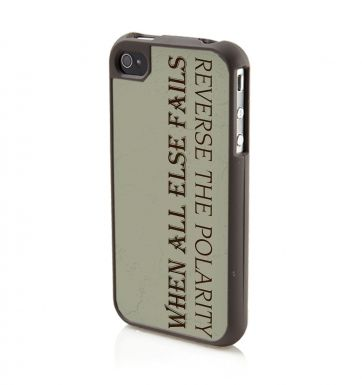 Reverse the Polarity - iPhone 4/4S case