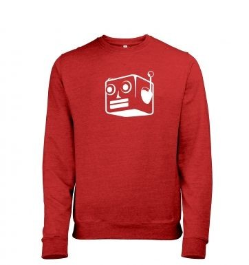 Robot heather sweatshirt