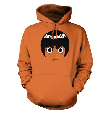 Rock Lee Face - Adult Hoodie
