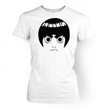 Rock Lee Face   womens t-shirt