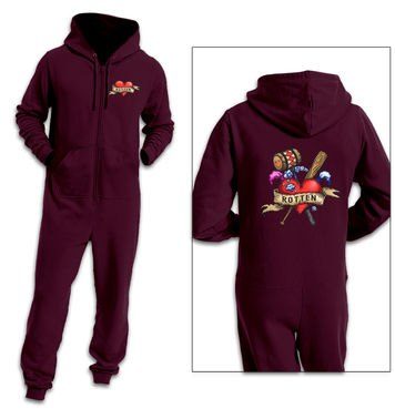 Rotten Tattoo adult onesie