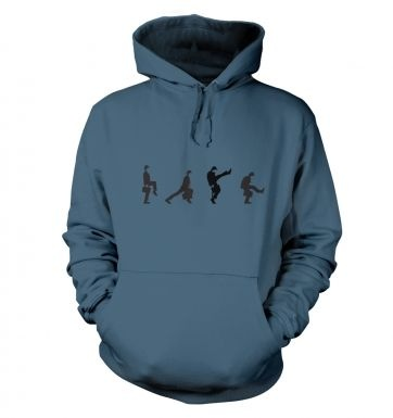 Row Of Silly Walks hoodie