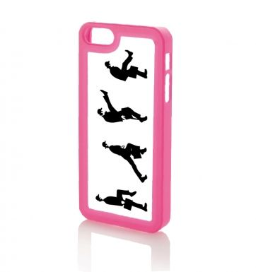 Row of Silly Walks - iPhone 5 & iPhone 5s case