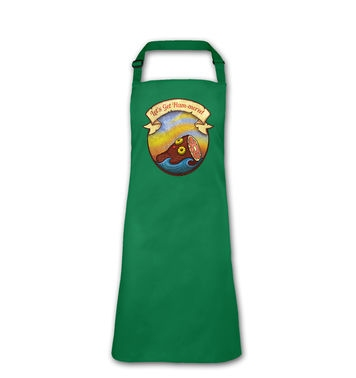 Rum Hammered adult apron