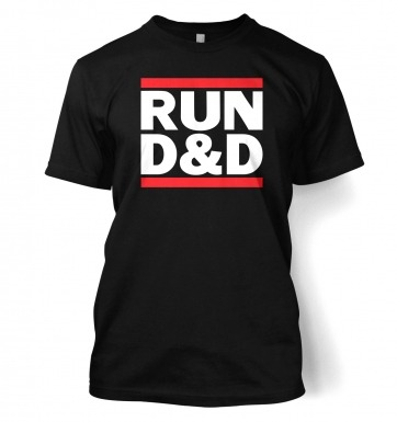 RUN D&D t-shirt