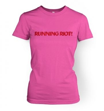 Running Riot women's t-shirt