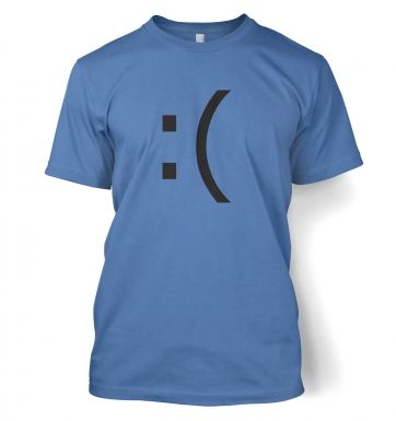 Sad Emoticon t-shirt