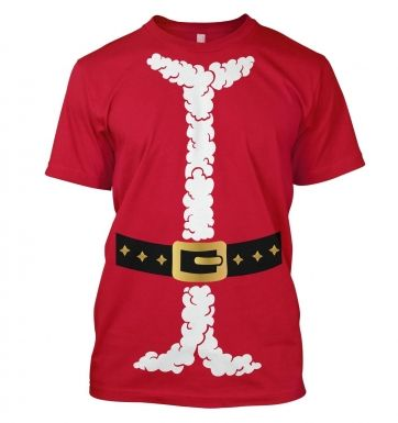 Santa Claus Costume Adult T-shirt
