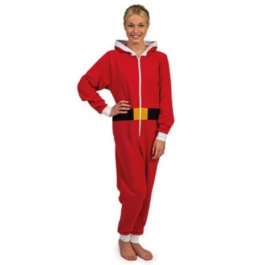 Santa Clause Christmas Onesie adult onesie