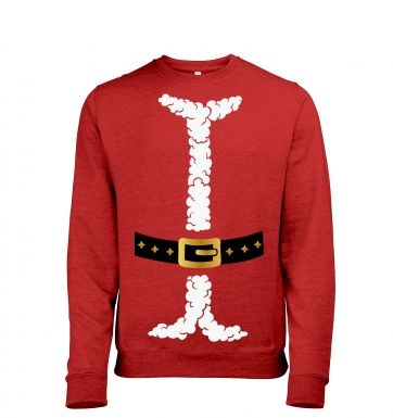 Santa costume sweatshirt (heather)
