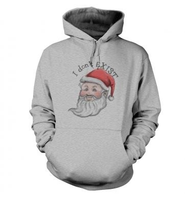 Santa doesn't adult hoodie