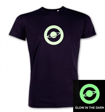 Saturn Circle Glow In The Dark premium t-shirt
