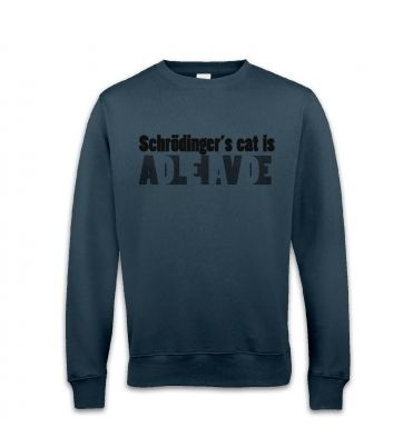 Schrodingers Cat Is Dead And Alive sweatshirt