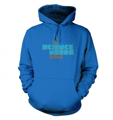 Science Nerds Rule hoodie