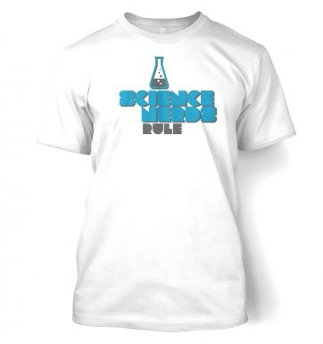 Science Nerds Rule  t-shirt