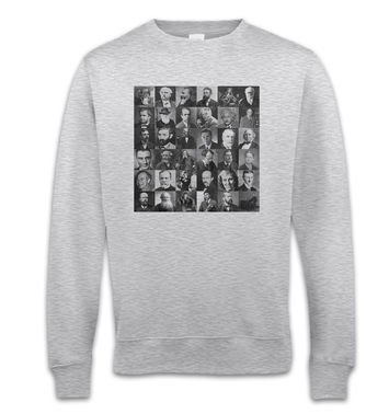 Scientist Collage Graphic sweatshirt