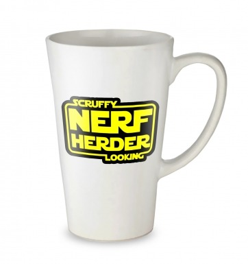 Scruffy Looking Nerf Herder tall latte mug