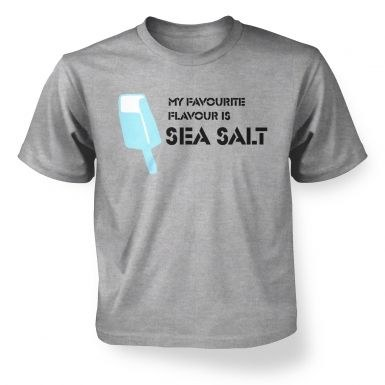 Sea Salt Ice Cream kids' t-shirt