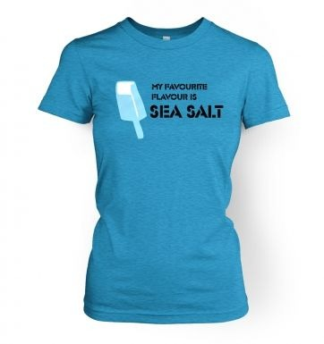 Sea Salt Ice Cream women's t-shirt